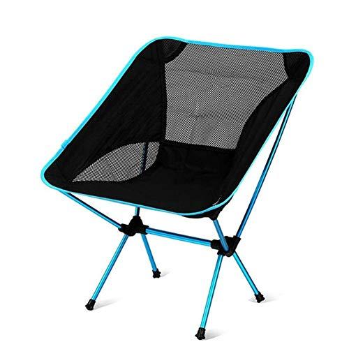 Silla plegable portátil de aleación de aluminio silla de pesca silla de camping taburete de ocio simple para acampar barbacoas lucar