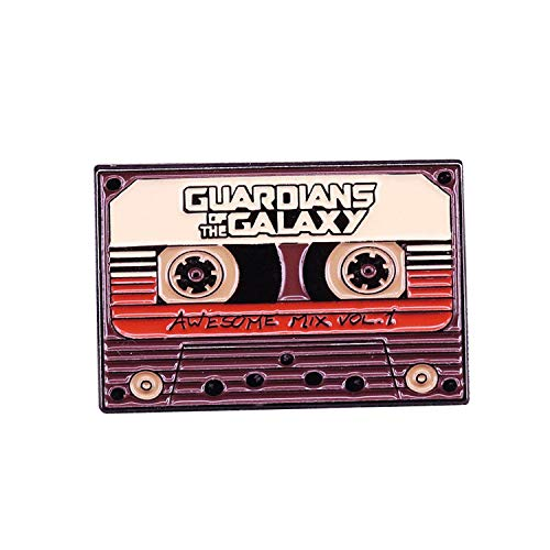 Sukyy Guardians of The Galaxy Tape Enamel pin Superhero Film Fans Gift-