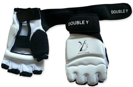 Double Y - Mezzi guanti Diamond per taekwondo
