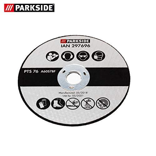 Parkside slijpschijf, vervanging slijpschijf voor parkeerzijde haakse slijper PWSA 12 Li A1 LIDL IAN 297696