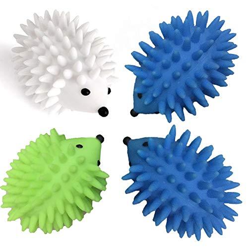 ドライヤー ハロウィーン 可愛いハリネズミ カラー乾燥ボール*4点 絡み防止 Hema art 洗濯衣類用 乾燥機ボールはしわ防止 静電気対策 柔軟剤不要の省エネルギー洗濯機用 時短グッズ スチームボールで、ほかにペットの玩具 肥満解消用にもできます