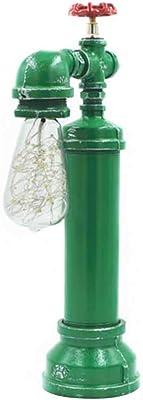Better & Best 2662609 Lámpara de sobremesa en forma de cilindro en ...