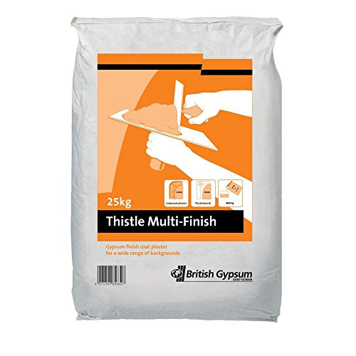 Thistle 25kg Multi Finish Plaster, Off White