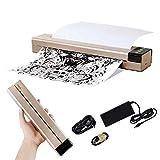 Fencia Tattoo Transfer Stencil Machine, Portable Office Mini Bluetooth Thermal Copier Printer Machine, Easy to Use, Fast Printing Speed US Shipping