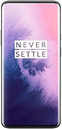 Oneplus 7 Pro GM1910 128GB/6GB Dual Sim (GSM ONLY, NO CDMA) Factory Unlocked No Warranty (Mirror Gray)