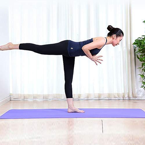 N / A Deporte Yoga Unisex Eje de Yoga eléctrico Vibración Masaje Muscular Espuma Reducir Columna de Grasa Yoga Fitness Equipo de Entrenamiento de Gimnasio en casa 183x61x0.6CM