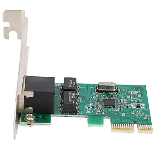 Sxhlseller 1000Mbps RJ-45 PCI-E Gigabit Ethernet Adaptador de Red Tarjeta LAN para Windows 98SE / ME / 2000/2003/2008/2008-64 / XP/Vista/vista-64 / Win 7