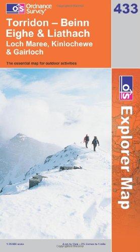 OS Explorer map 433 : Torridon - Beinn Eighe & Liathach