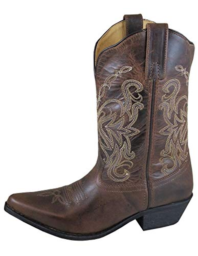 Smoky+Mountain+Boots+Women%27s+Western+Snip+Toe+Cowboy+Madison+Distressed+Brown%2c+8.5M
