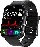 Smart Watch da uomo Android 4G Smart Phone S888 impermeabile Global Smart Watch App 1.78 pollici 3GB RAM 32GB ROM GPS SIM Card Wifi (B)