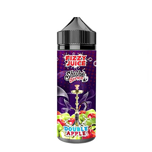Double Apple Hookah Shisha Series 100ml Shortfill Liquid by Fizzy Juice Nikotinfrei