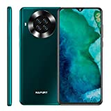 HAFURY K30 Smartphone 6.5 Pollici HD+ Display 64GB ROM 3GB RAM 4200mAh Ricarica Rapida Quad Camera Android 10 Cellulare Supporto FACE ID NFC Dual SIM Verde