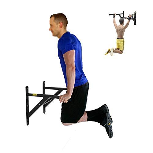 Rack de Sentadillas Equipo de Fitness para el Gimnasio en casa Equipo de calistenia Parallettes Barras de inmersión Estación de dominadas de Acero Inoxidable Ra