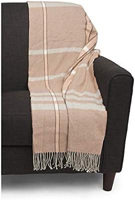 Amazon.com: Tessilechiti Luxury Fringed Decorative Oversized ...