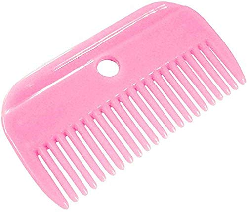 Lincoln Plastic Mane Comb One Size Pink