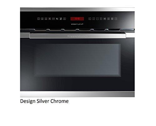 Küppersbusch Einbau-Dampfgarer EDG6550.0, 45 x 56 cm, Design:schwarz + Silver Chrome