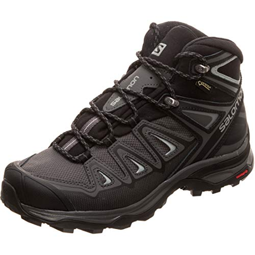 Salomon Damen X Ultra 3 Mid GTX Walking-Schuh, Magnet/Black/Monument, 38 EU
