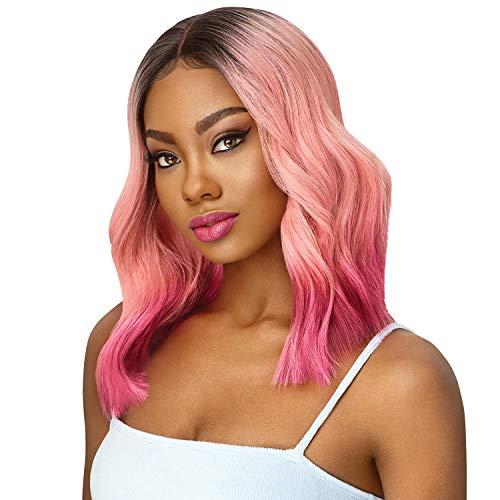 Outre Lace Front Wig Color Bomb Nahla (1B)