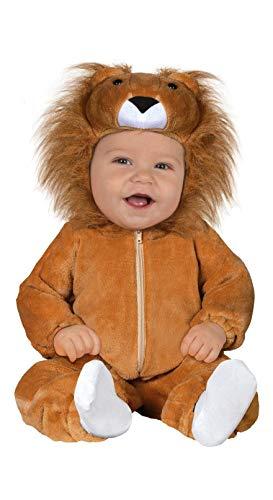 FIESTAS GUIRCA Disfraz de Pijama león león para bebé recién Nacido