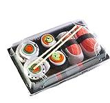 Sushi Socken, 3 Paar Set, Größe 41 - 46, Lustiges Geschenk für Männer und Frauen, Witzige Bunte...
