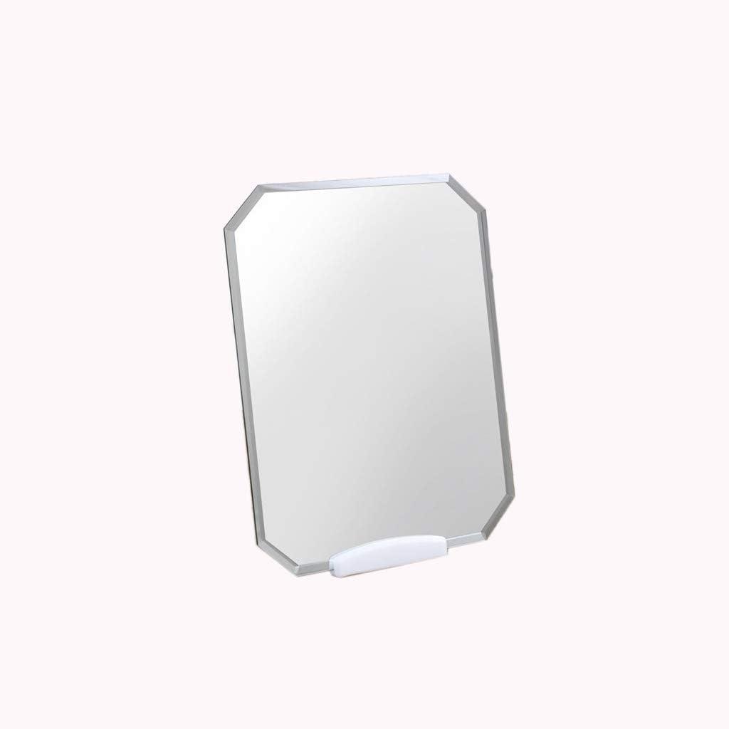 JJZI-L Travel Mirror Octagon Rimless Direct sale of manufacturer New York Mall Bat Handheld Makeup