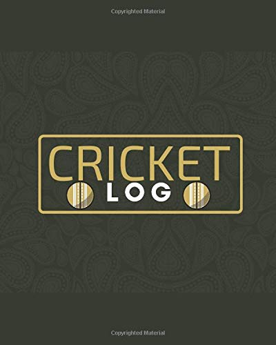 Cricket Log: Unique Cricket Scoring Sheet, Score Sheet Notebook for Outdoor Games, Gifts for Players, Cricket Bowlers, Game lovers, Coach, Sport ... with 110 Pages. (Cricket Scorebook, Band 13)