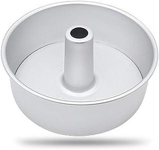 ATATMOUNT 6inch 8inch Aleación de Aluminio Pastel de Gasa Redondo Molde de Pastel de Chimenea Hueco extraíble Molde de Pastel DIY Herramientas para Hornear Pastel
