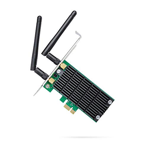 TP-Link AC1200 PCIe Wireless Wifi PCIe Card   2.4G/5G Dual Band Wireless PCI Express Adapter (Archer T4E) (Renewed)