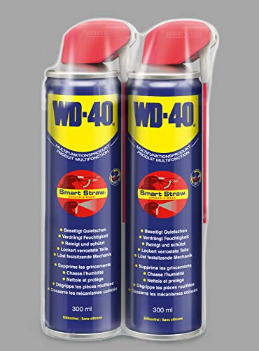 2 x WD-40 Multifunktionsprodukt 300 ml Smart Straw Slim