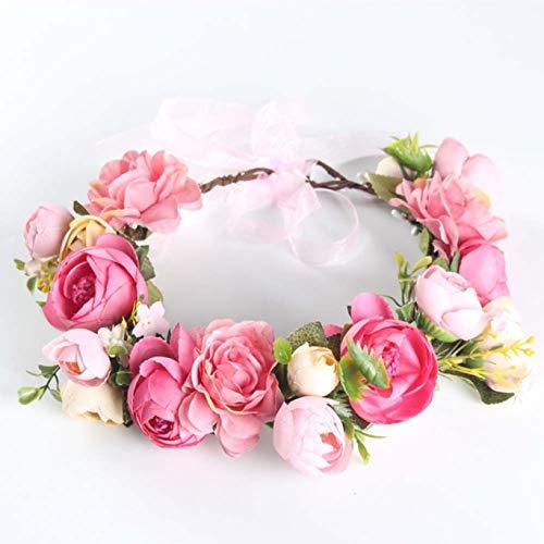 Constance Haarschmuck für Damen, Blumen-Diadem