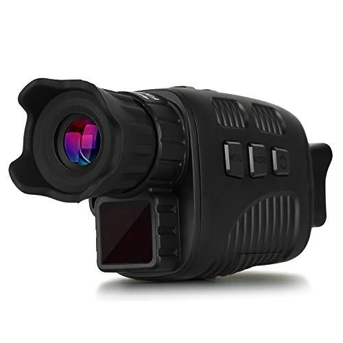Telescopio a Infrarossi per Visione Notturna Digitale Monoculare 960P HD a 656 Piedi con Schermo LCD TFT da 1,5 Pollici Acquisizione Video e Foto per Monitoraggio Esterno Escursionismo in Campeggio