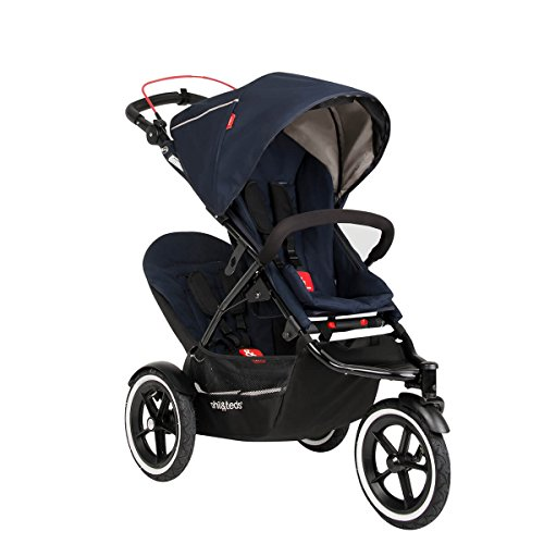 Fantastic Deal! phil&teds Sport Stroller with Doubles Kit, Midnight