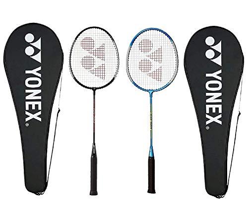 Yonex GR 303F Aluminum Strung Badminton Racquet (Black/Blue)
