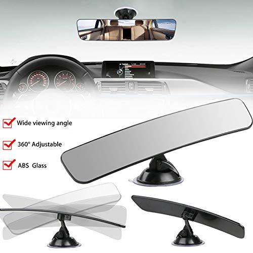 EEEKit Specchietto retrovisore, Specchio Universale per Camion Auto Specchietto retrovisore Interno Ventosa Specchietto retrovisore per Parabrezza