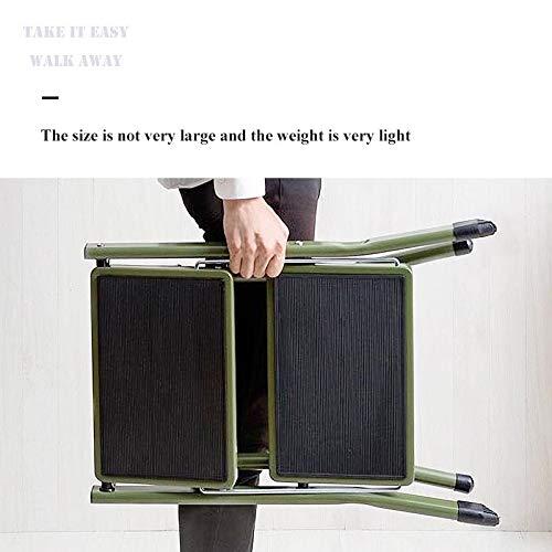 STEP STOOL Trittleiter Kleiner Schritt Hocker Metall-Leiter Hocker Ladder Hocker Licht Tritte Breite Trittleiter Trittbretts Folding Tritt