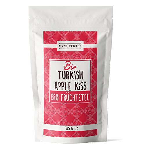 Bio Türkischer Apfeltee - Turkish Apple Kiss Tea - Früchtetee lose I loser Apfel Tee I Türkischer Tee lose by MY SUPERTEA