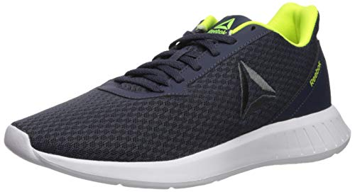 Reebok Men's Lite Running Shoe, Heritage nacy/Navy/Yellow, 11 M US
