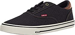 powerful Levi's Ethan DN MII Shoes Black / Brown 8