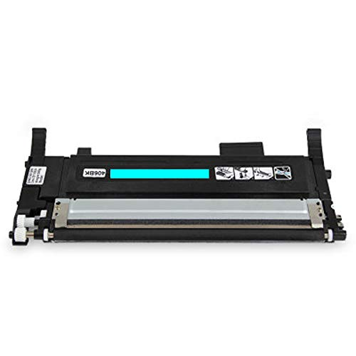 Cartuchos de tóner compatibles con CLT404 para Samsung CLT404 Reemplazo para Samsung CLT K404S C430 C43X C433W C480F Impresora, Equipo de copiadora Alta eficiencia Cyan
