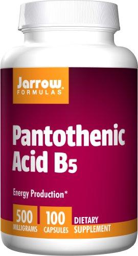 Jarrow Formulas - Pantothenic Acid, 500 Mg, 100 Capsules