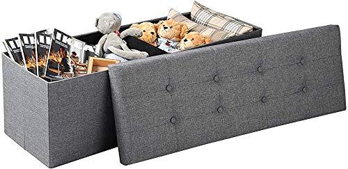 Stools Stool Bedpan Stool Stool Storage Box with Crisp,Light Grey