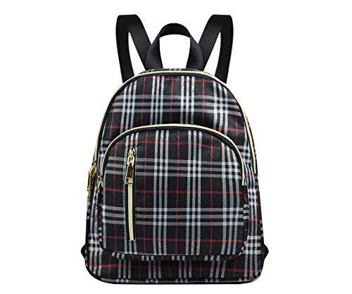 YANAIER Mini mochila impermeable de nailon para mujer, antirrobo, para uso diario o para niñas