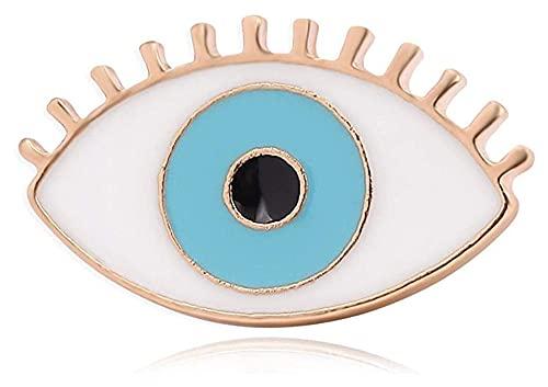 Lzpzz Broches de las mujeres de la serie médica broche de órgano del ojo esmalte pines de color azul de la solapa alfileres broches insignias regalos