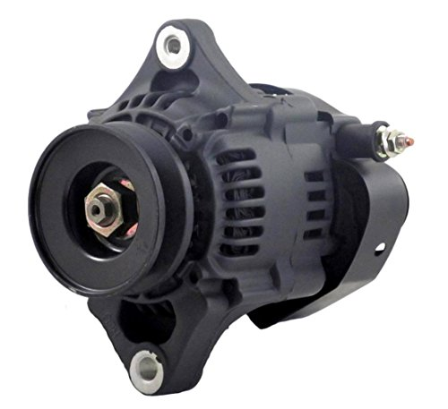NEW MINI 8162 BLACK 60AMP SMALL/BIG BLOCK CHEVY RACING 1 WIRE ALTERNATOR COMPATIBLE WITH 93MM 8162