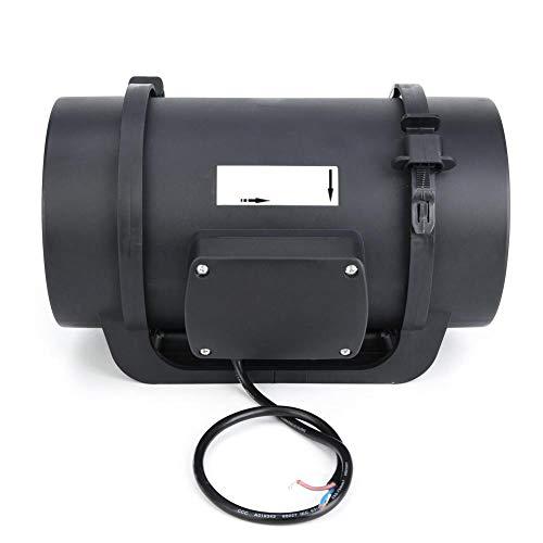 Ventilador Ventilador de ventilación de conducto en línea Motor EC de 6,3 Pulgadas AC100-240V 470CFM para hoteles para Salas de conferencias para hospitales