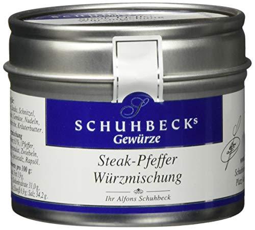 Schuhbecks Steak Pfeffer, 3er Pack (3 x 65 g)