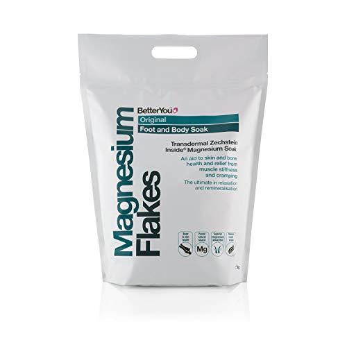BetterYou Magnesium Flakes Magnesiumbadeflocken Magnesiumbadesalz 5000g