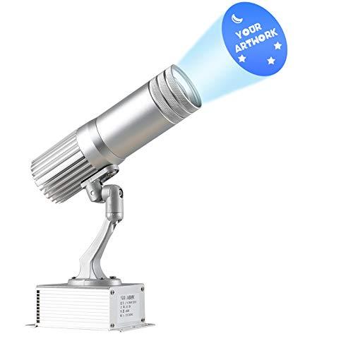 DYJD 15W Logo GOBO Projektor LED GOBO Light Free Benutzerdefinierte Projektor Für Geburtstagsfeier