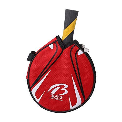 Alomejor1 Raqueta de Tenis de Mesa Paletas de Goma de Ping Pong Mango cómodo Bate de Tenis de Mesa para Jugadores de Agarre
