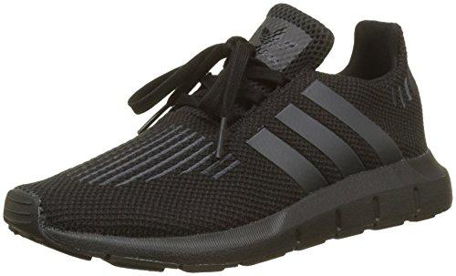 Adidas Swift Run C, Zapatillas de Deporte Niños Unisex niño, Negro (Negbas/Neguti/Negbas...